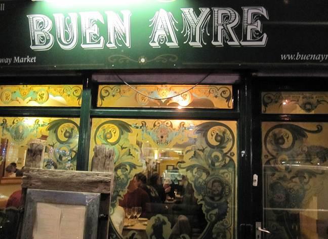 Buen Ayre restaurant review London