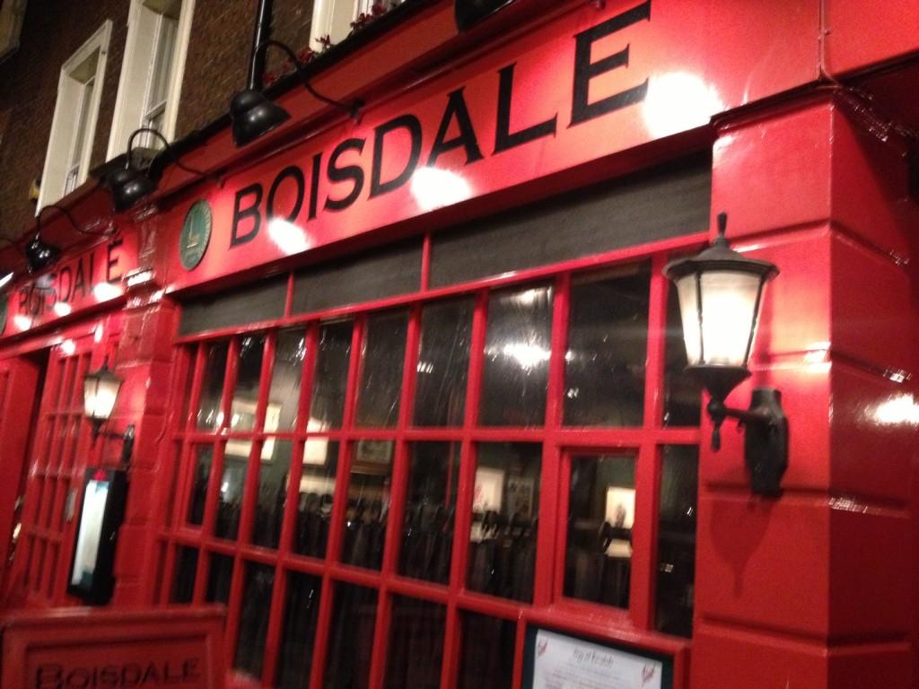 Boisdale of Belgravia Restaurant Review London