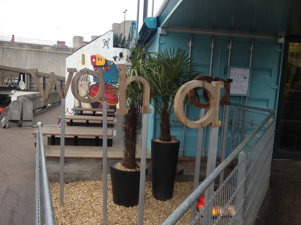 Wahaca outside London food blog