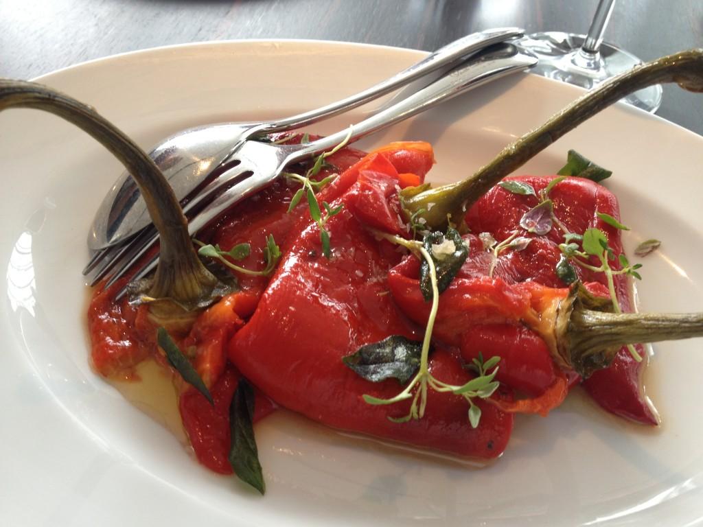 Oblix restaurant peppers