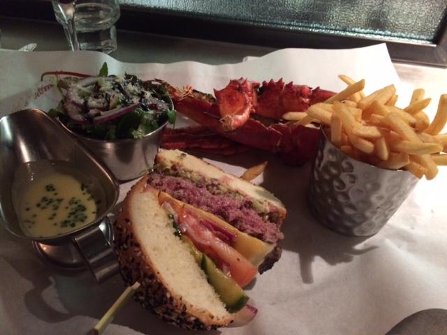 Burger & Lobster half-and-half Farringdon