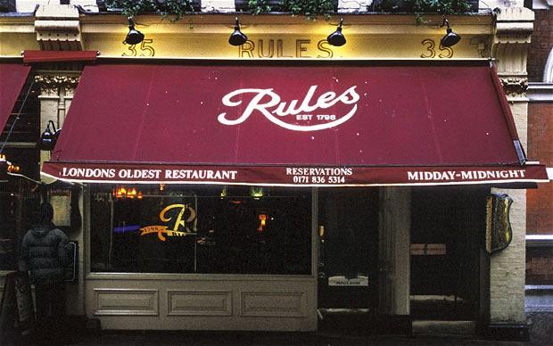 Rules_restaurant