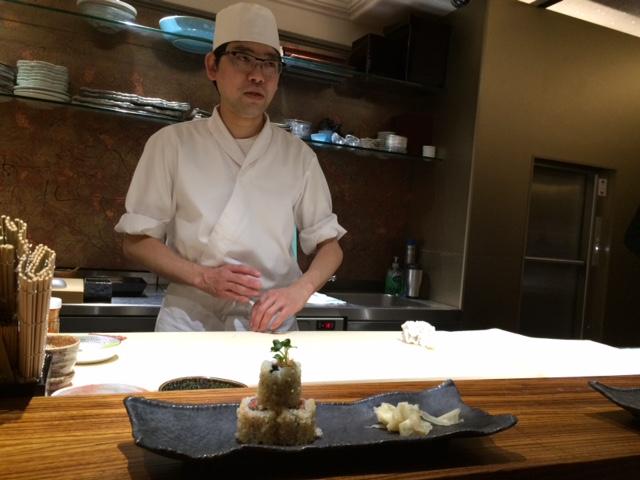 Kouzu sushi restaurant