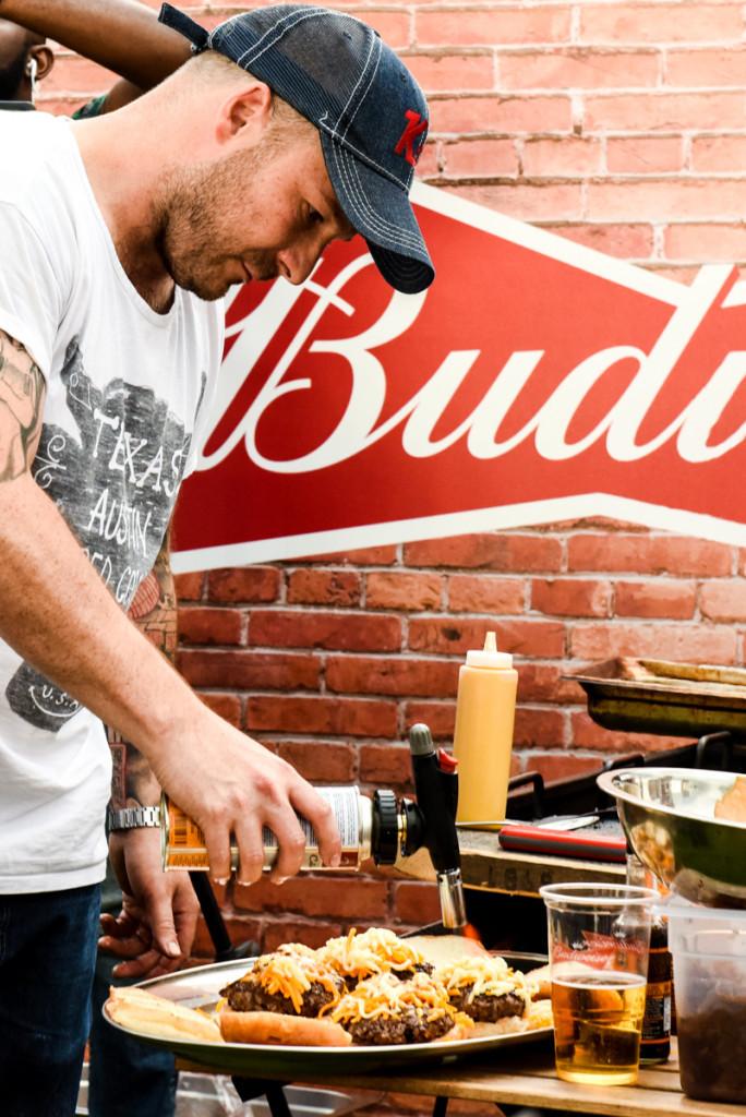 Neil Rankin at Budweiser's Summer BBQ dalsdon